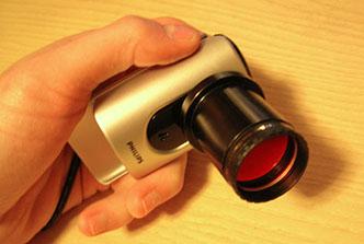 Webcam assemblata